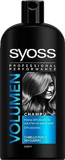 Syoss Champú para Volumen 0% Siliconas - 500ml