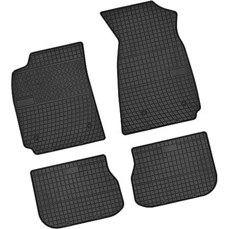 Bär Afc Au00137a Gummimatten Auto Fußmatten Schwarz Erhöhter Rand Set 4 Teilig Passgenau Für Modell Siehe Details Auto