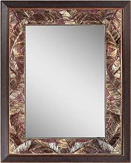 Head West Tropical Leaf Mirror, 26.5 by 34.5 by 1-Inch