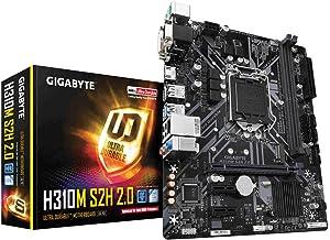 Gigabyte H310M S2H 2.0 - Placa Base (DDR4-SDRAM,  DIMM,  2133, 2400, 2666 MHz,  Dual,  32 GB,  Intel)