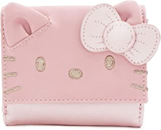 Loungefly x Sanrio Hello Kitty Face Metallic Mini Wallet