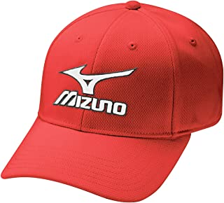 Mizuno 2017 Tour Fitted Mens Performance Hat Stretch-Fit Golf Cap
