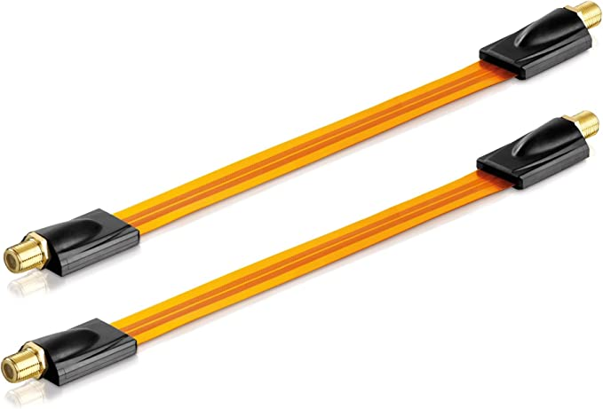 Conecto 2x Premium Fensterdurchführung Für Sat Kabel Elektronik