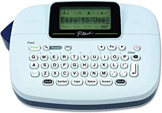 Brother PTM95 P-touch, Handy Label Maker, 9 Type Styles, 8 Deco Mode Patterns, White
