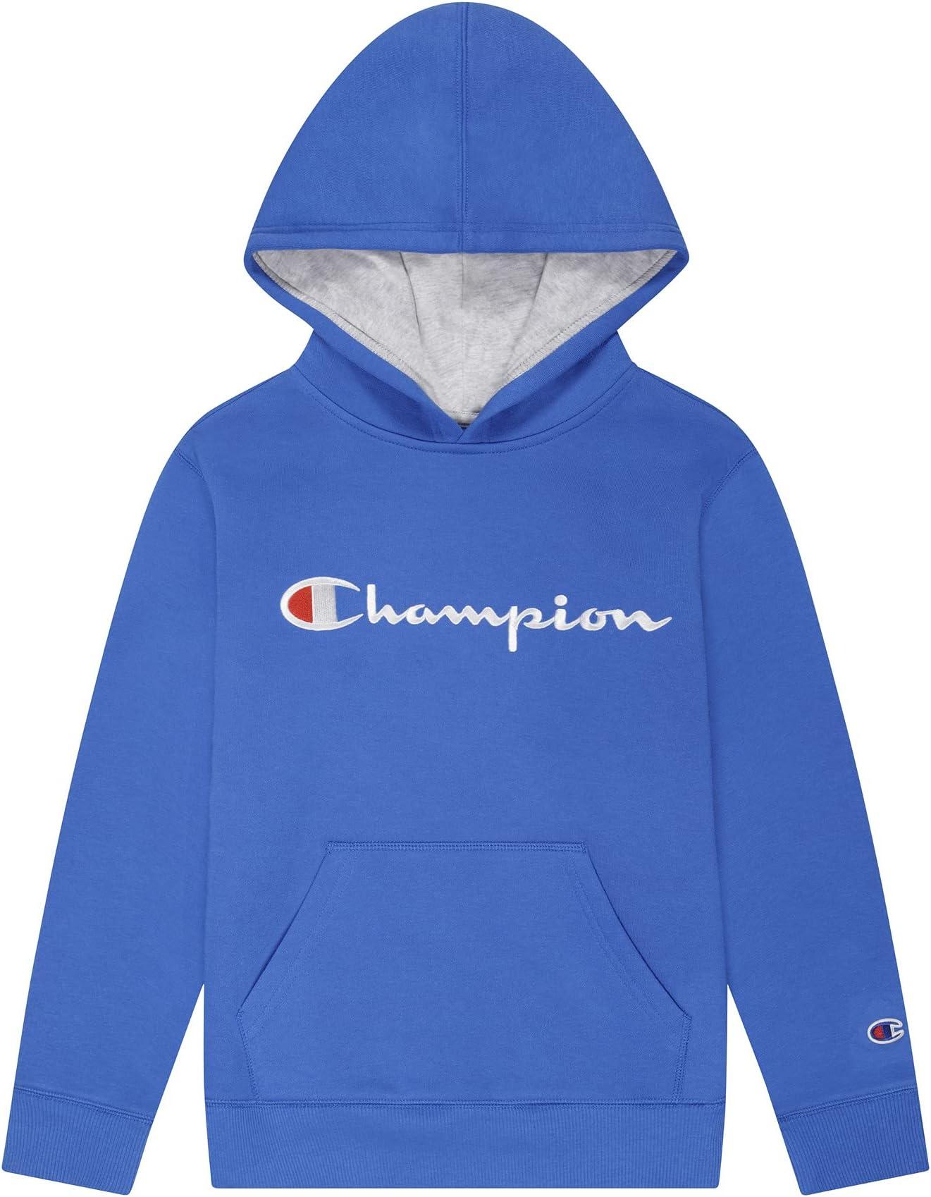 Champion Kids Script Fleece Hoodie