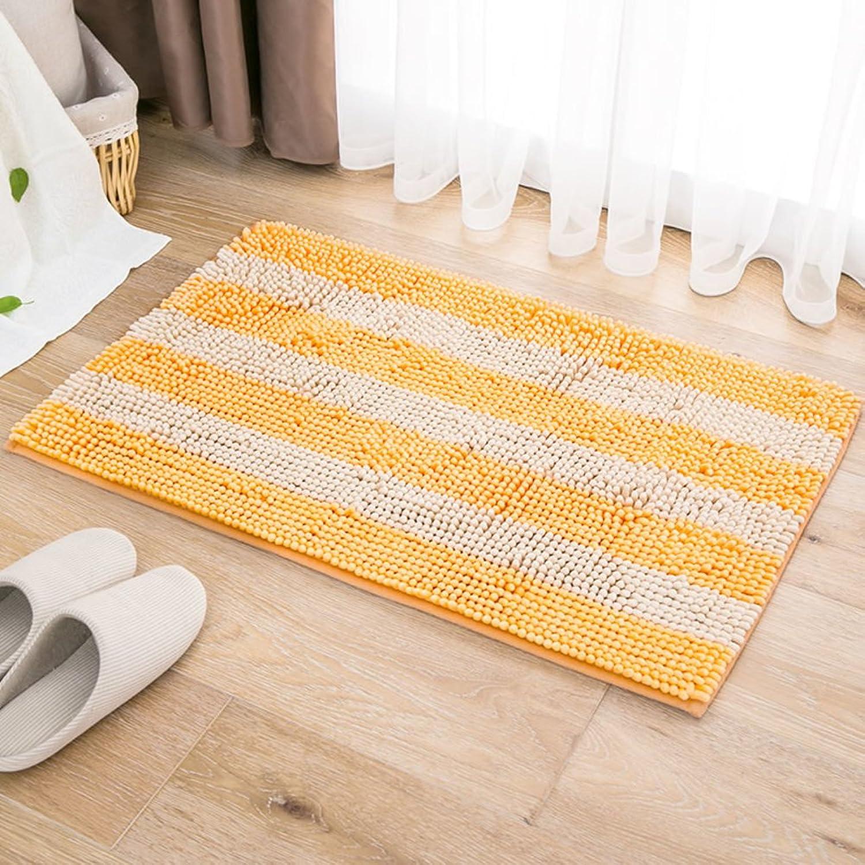 Water-Absorbing mats doormats Bathroom Door mats Bathroom Toilet Door mat Bedroom Bathroom Non-Slip mats-B 50x80cm(20x31inch)