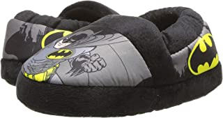 Favorite Characters DC Batman Boys Black W/Gray A-Line Slippers