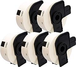 Cartridges Kingdom DK11201 DK-11201 (29mm x 90mm) Etiquetas compatibles para Brother P-Touch Impresoras   400 Etiquetas por Rollo   5-PACK