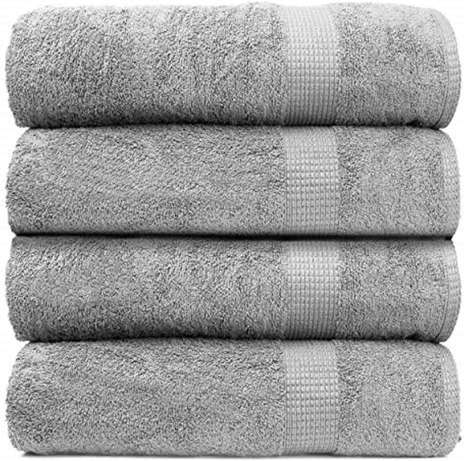 4 Piece Bath Sheet Wholesale Set 100% Super Premium Soft Fluffy Cotton [Alternative dealer] P