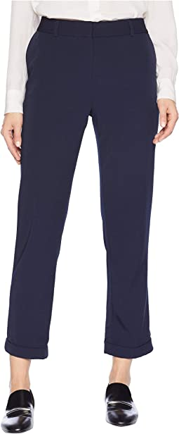 Ankle Length Twill Pants