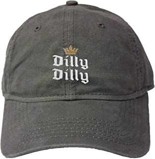 Go All Out Adult Crowned Dilly Dilly Embroidered Deluxe Dad Hat