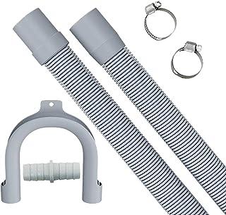 1.5m Tuyau de vidange rallonger de ,tuyau de vidange rétractable, peut être utilisé pour le kit d'extension de tuyau de vi...