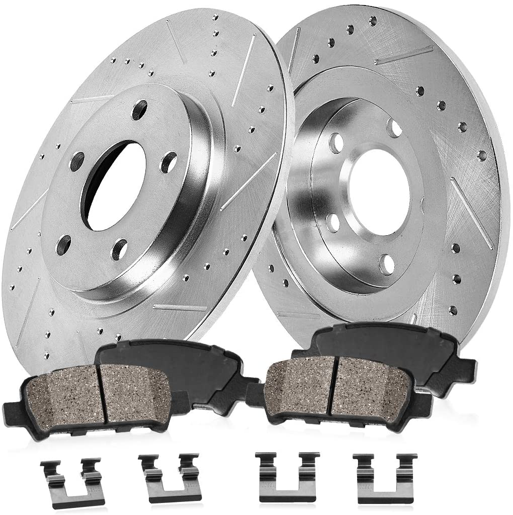 配送員設置送料無料 Callahan CDS05971 REAR 292mm Drilled Slotted 2 + 5 期間限定特別価格 Rotors Lug
