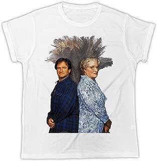 Robin Williams Mrs Doubtfire Funny Poster Funny Gift Designer Unisex T-Shirt