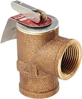 Watts 0342691 30 PSI Pressure Relief Valve, Bronze, 3/4