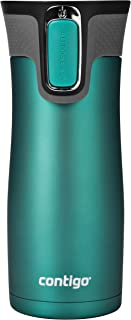 Contigo 2063326 AUTOSEAL West Loop Vacuum-Insulated Stainless Steel Travel 16 oz. Blue 1998256
