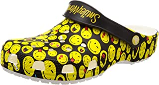 Crocs Unisex-Adult 205714-90H Classic Smiley Clog