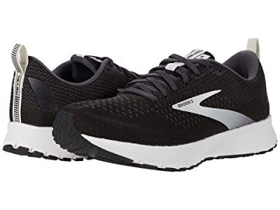 Brooks Revel 4 (Black/Oyster/Silver) Women