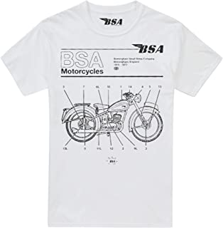 BSA Motocycles Men's Call Out T-Shirt