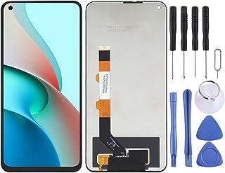 قطع غيار QFH شاشة LCD ومحول رقمي مجموعة كاملة من أجل Xiaomi Redmi Note 9 5G / Redmi Note 9T 5G M2007J22C طقم استبدال شاشة ...