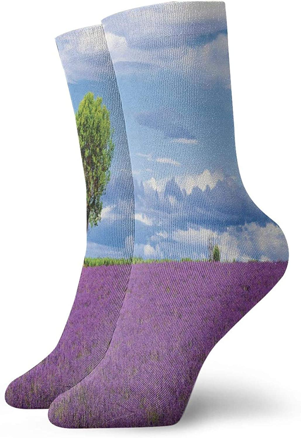 American Football Theme Grunge Looking Retro Composition With Balls Athletic Socks For Men / Women,30CM