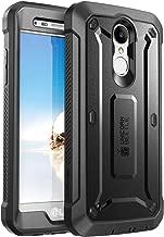 SupCase Unicorn Beetle Pro Case for LG Aristo 2 Plus/LG Aristo 2 / Tribute Dynasty/Fortune 2/ Rebel 3 LTE, with Built-in Screen Protector for LG Aristo / K8 2017/ Phoenix 3/ Risio 2 (Black)