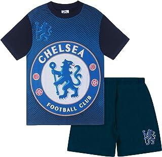 comprar comparacion Chelsea FC - Pijama corto para niño - Producto oficial - Azul