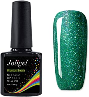 JOLIGEL Efecto Constelado Esmalte Semipermanente en Gel de Uñas para UV LED 10ml Arte Manicura Pedicura Soak-Off Pura Re...