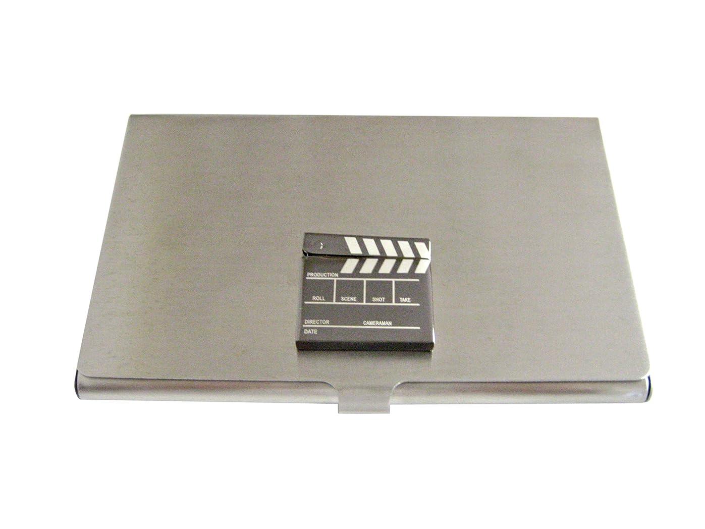 すき思春期の辛い詳細なFilm Clapper Hollywoodビジネスカードホルダー