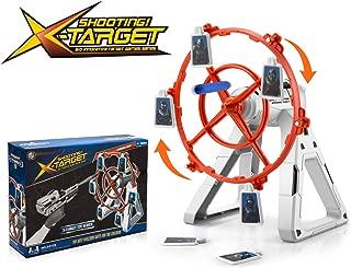 Electronic Rotating Target for Nerf Guns, More Challenging Practice Target for N-Strike Elite Mega Rival Series, Soft Bullet Gun (Only Target)