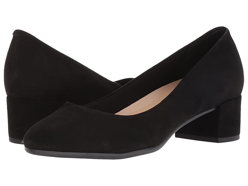 Easy Spirit Ailene (Black Suede) Women