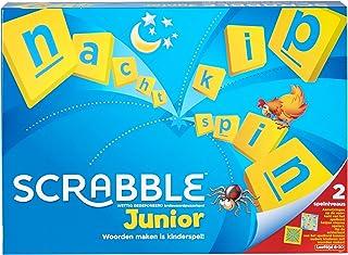 Mattel Games Scrabble Junior, brädspel för barn från 6 år