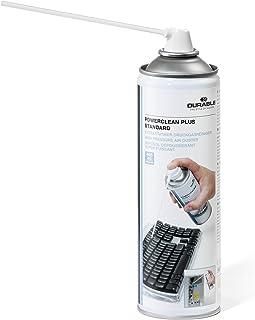 Durable 583619 Powerclean Plus Gaz Spray sec Dépoussiérant haute pression inflammable en Aérosol 400 ml