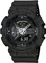 Casio G-Shock Heathered Black Dial Resin Quartz Male Watch GA110HT-1A