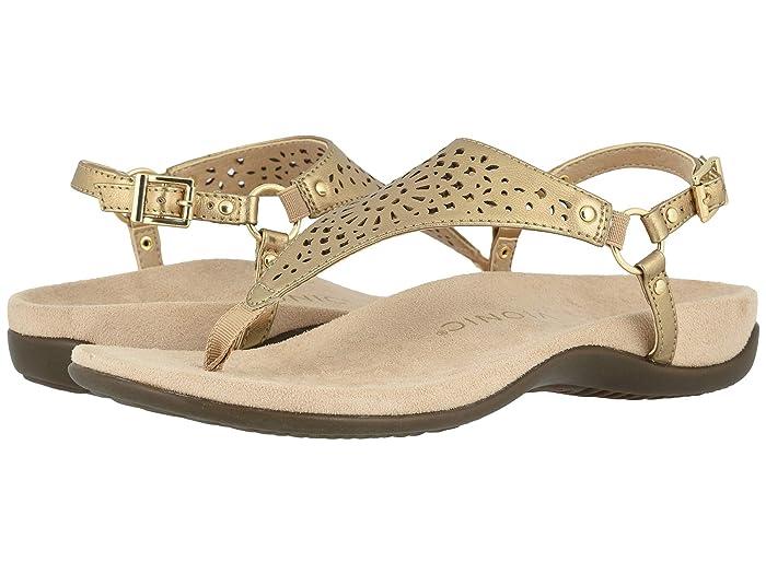 VIONIC  Kirra Perf (Gold Metallic) Womens  Shoes