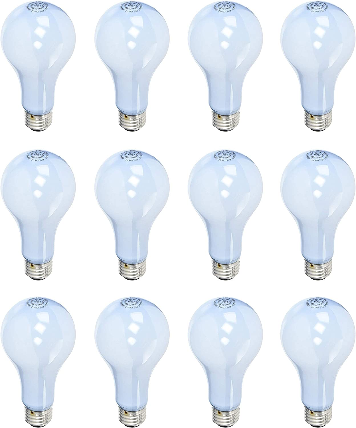 GE Reveal New mail order HD 3-Way Light Bulbs 100 Special price 50 A19 150 Purpose General