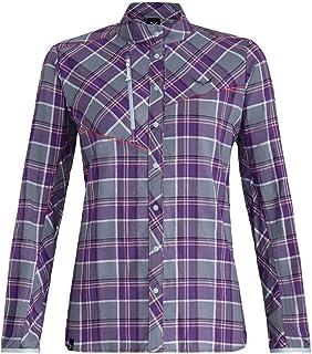 SALEWA Fanes Flannel 4 PL W L/S SRT Camicia a Maniche Lunghe Donna