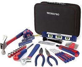 WORKPRO gereedschapskoffer gereedschapstas keukenlade gereedschapsset monteur opbergkoffer gereedschapskoffer documententa...