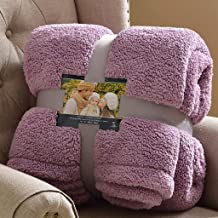Artificial Wool Blanket Blanket Thickened Double Layer, Single, Double Warm Blanket , Blankets Throws Large, Individual Do...
