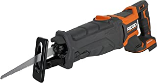 Ridgid R8643B Octane 18V Lithium Ion Cordless Brushless Reciprocating Saw w/ Included Blade and LED Lighting (Battery Not Included / Power Tool Only)
