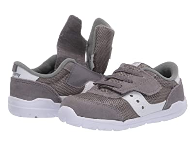 Saucony Kids Originals Jazz Riff (Toddler/Little Kid) (Grey/White) Boys Shoes