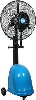 Ventilador industrial/Ventilador de servicio pesado Ventilador de enfriamiento oscilante potente Ruido silencioso/Ventilador de nebulización humidificador industrial/Ventilador de pedestal de