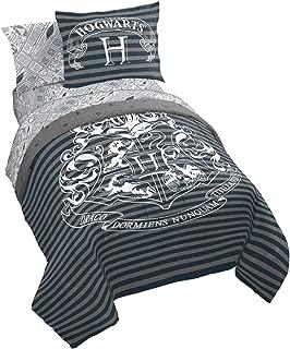 Jay Franco Harry Potter Draco Dormiens 7 Piece Queen Bed Set, Gray