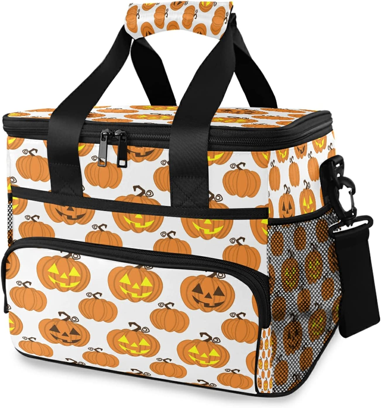 xigua Columbus Mall Happy Halloween High quality new Cooler Bag L Strap Insulated Shoulder with