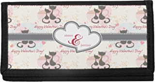 Mouse Love Canvas Checkbook Cover Personalized