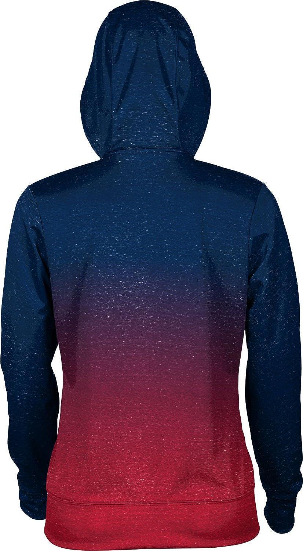 ProSphere Gonzaga University Girls' Pullover Hoodie, School Spirit Sweatshirt (Ombre)