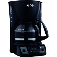 Mr. Coffee CGX7-RB Simple Brew 5-Cup Programmable Coffee Maker