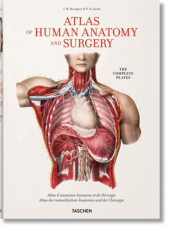 Bourgery. Atlas of Human Anatomy and Surgery (Multilingual Edition)