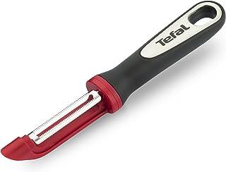 Tefal Ingenio Éplucheur à peaux souples à lame curvée et dentelée en acier inoxydable Sans bisphénol A K2074014