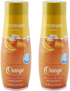 SodaStream Orange, 440ml 2 Pack, 14.8 Fl Oz
